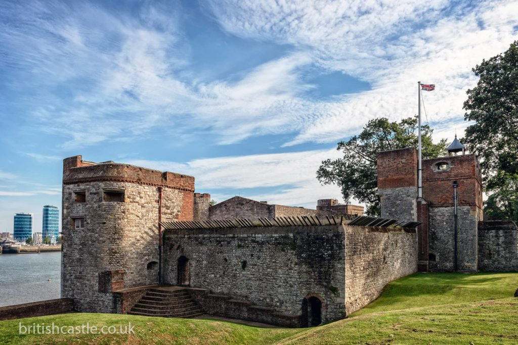 Upnor Castle stands watch over the Medway