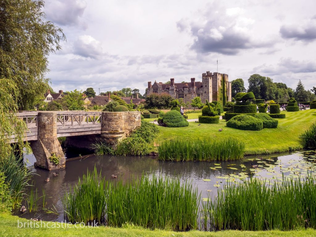 Hever Castle and grounds