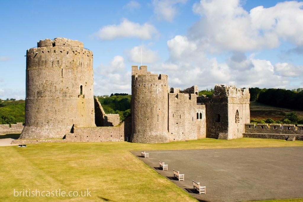 Pembroke castle inner ward