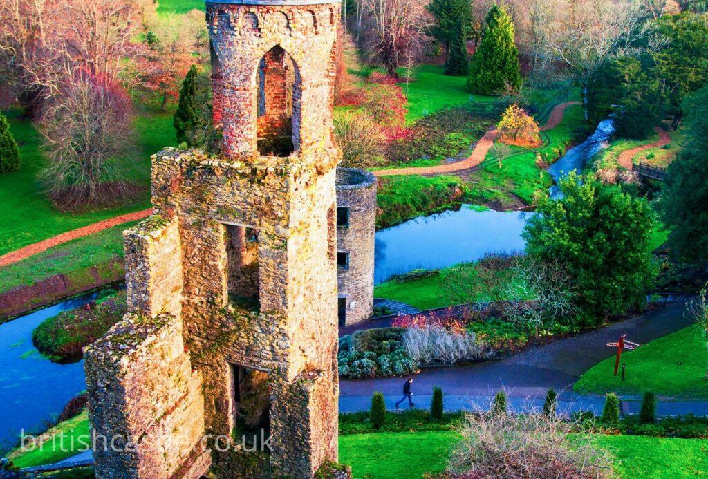 Blarney castle in the autumn