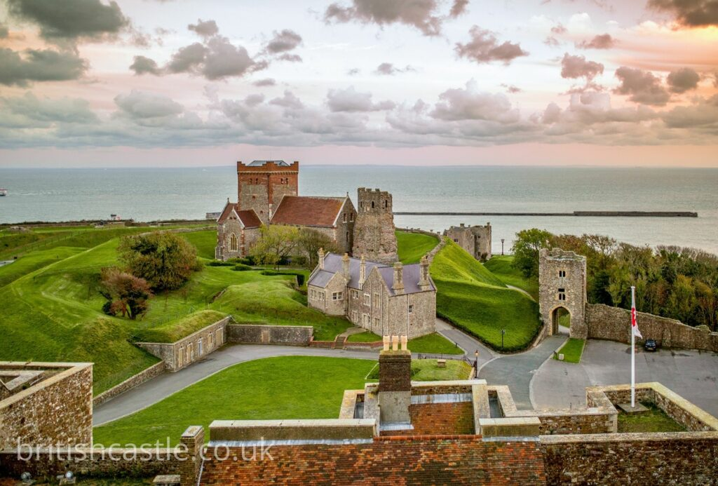 St Mary of Castro church at Dover castle