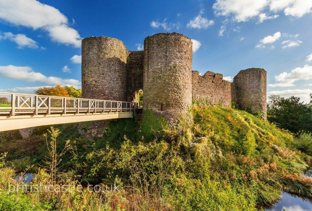 White castle, Monmoutshire