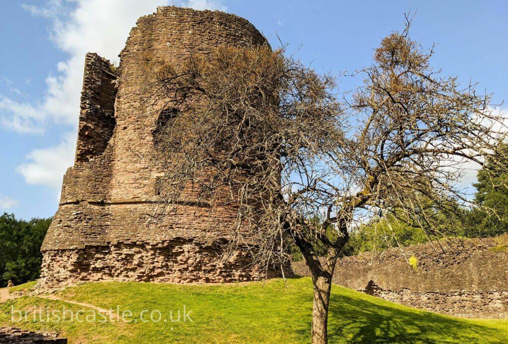 Skenfrith Castle keep